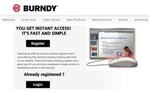 BURNDY e-learning module