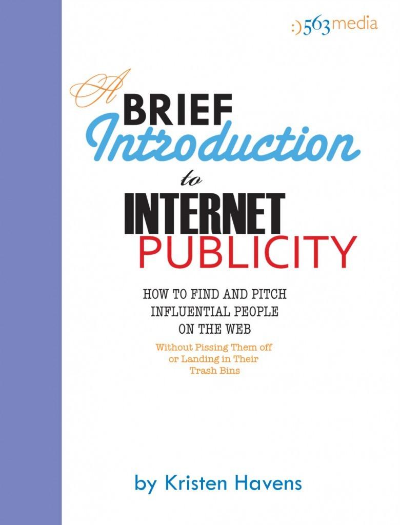 A Brief Intro to Internet Publicity