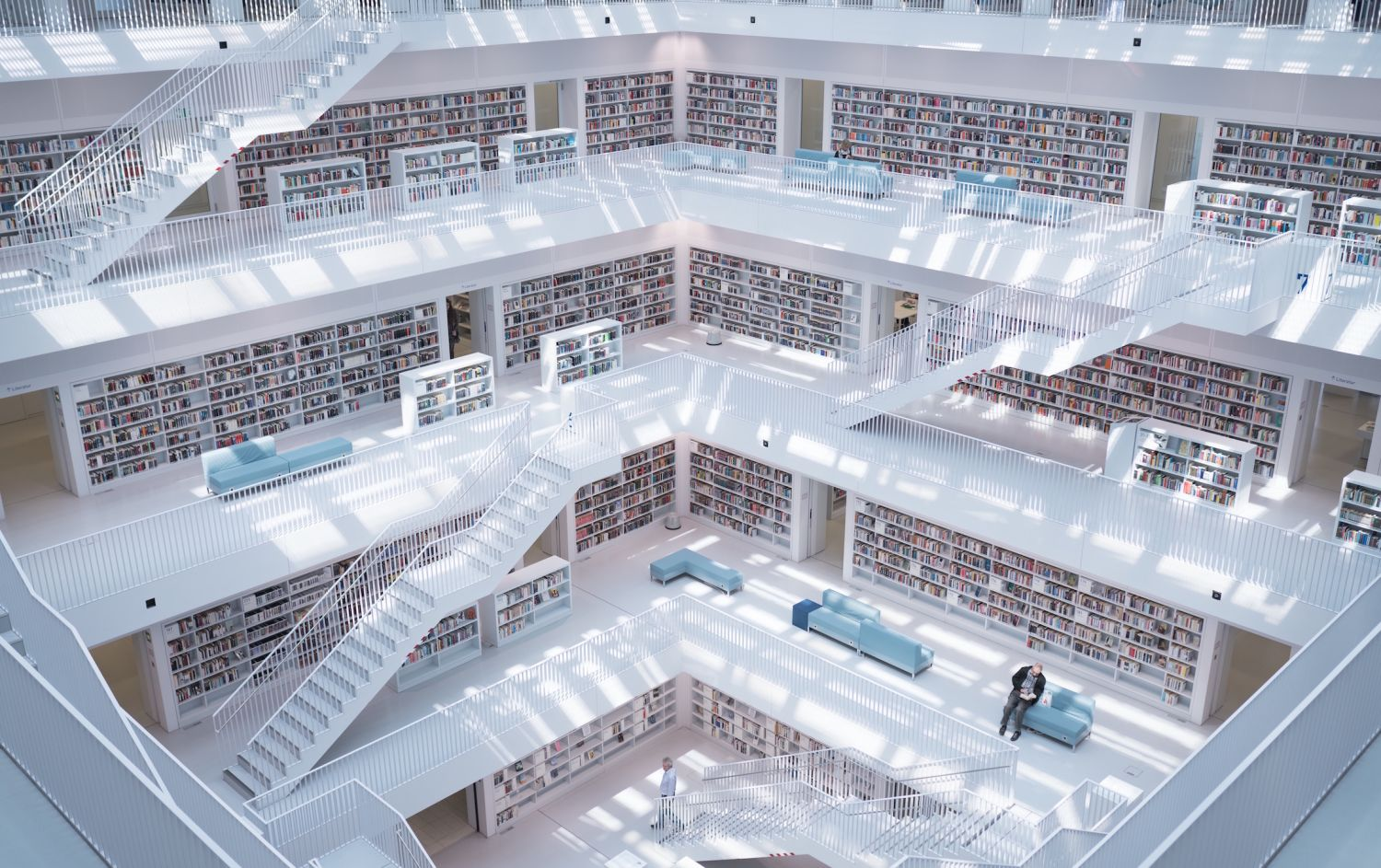 Max Langelott photo of Stuttgart library