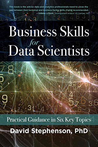 Business Skills for Data Scientists by D. Stephenson PHD - thumbnail sized book cover